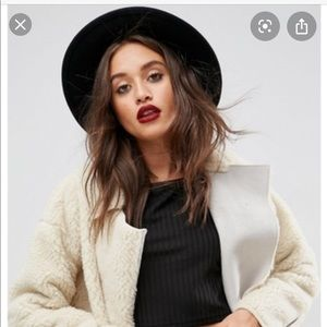 Urban Outfitters Black Fedora